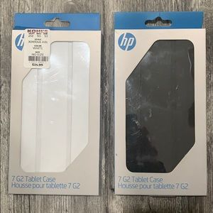 HP 7 G2 Tablet Case (both cases for 1 price).